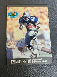 Emmitt Smith 1991 Fleer Ultra Insert Ultra Performers #1 of 10 Rookie Card
