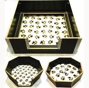 Wurfbox Welpenbox Wurfkiste Welpenkiste Siebdruck Welpenschutzleisten Hundebett