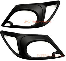 Toyota Hilux Matte Black Head Light Headlight Lamp Cover Trim Vigo 2004 to 2012