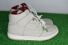 Nike Dunk Ultra High Top Men's 8 Waterproof Grey Black Red Plaid 845055-201