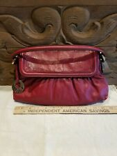 e7091080685b FENDI Shoulder bag Red Woman Authentic Used T4534 EUC Beautiful Designer