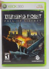 Turning Point: Fall of Liberty Xbox 360, 2008 Video Game Complete in Box EUC