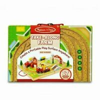 Melissa & Doug Farm Play Set Take-along Tabletop - 17 Pieces - Tracked P&P