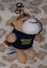 Murray State University Msu Racers Dunker Mascot Horse Keychain Plush Animal