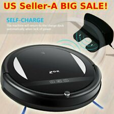 5-Mode Smart Robotic Vacuum Cleaner Floor Cleaning Sweeping w/ Remote Control MY