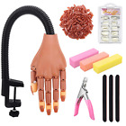Practice Hand for Acrylic Nail Adjustable Fake Mannequin Flexible Movable Finger