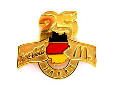 "Coca cola pin/Pins-mcdonalds"" 25 años"" [2199b]"