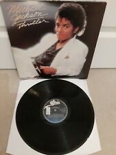 "Michael Jackson – Thriller Vinyl 12"" Gatefold LP Epic EPC 85930 1982"