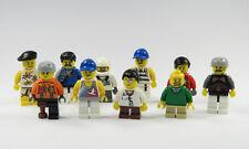 LEGO® 10 Figuren Männer Junge Mann Figur City Boy Man Ersatzteil Neu (27)
