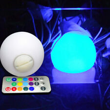 Waterproof 7 Color Swimming Pool Floating Ball LED Light with Remote Control Toy