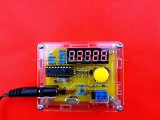 1Hz - 50MHz Crystal Oscillator Frequency tester Meter Digital LED +case DIY KITS
