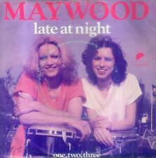 """7"""" Maywood/Late At Night (NL)"""