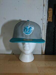 Dallas Mavericks New Era Classic Old School Logo Baseball Cap Teal Size 7 1/2
