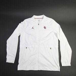 Oklahoma Sooners Nike Jordan Jacket Men's White Used