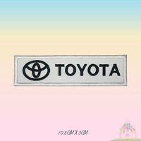 Toyota Car Brand Embroidered Iron On Sew On Patch Badge For Clothes Bags etc