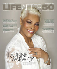 LIFE AFTER 50 MAGAZINE DIONNE WARWICK COVER OCTOBER 2012 OUT OF PRINT