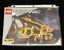 LEGO Technic 8438 Pneumatic Crane Truck (instructions book only)