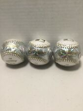 Franklin Sports MLB Soft Strike Metallic Tee Ball **lot Of 3** (Gold)- NEW