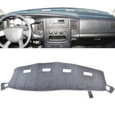 For Dodge Ram 1500 2500 3500 2002-2005 Dash Mat Cover Light Gray Carpet Dashmat