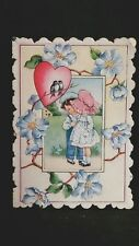 Vintage Valentines Day Card Of Course You May Be Bashful But Think How Much