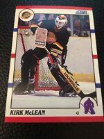 Kirk McLean   Canucks 1990-1991 Score #93