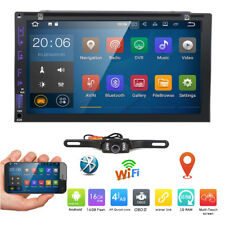 """Android 6.0 Double DIN 7"""" Car Stereo GPS Sat Nav DAB+ OBD2 WiFi 3G Radio DVD+CAM"""