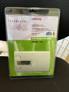 Ritetemp 5-1-1 Programmable Thermostat Model 8022c NEW IN PACKAGE