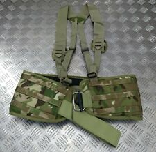 Genuine British Army Issue MTP Load Carrying Padded Belt And Yoke Molle System