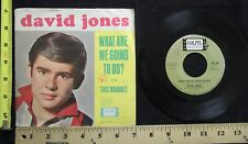 Vtg David Jones This Bouquet / What Are We Going To Do 45 Record Colpix CP 784