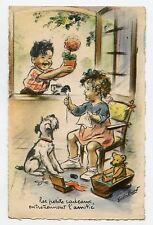 GERMAINE BOURET . Les petits cadeaux entretiennent l'amitié . Ours TEDDY .