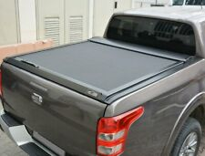Black Aluminium Roller Shutter Tonneau Cover Sliding Trunk for Mitsubishi L200