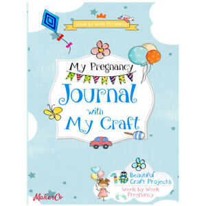 My Pregnancy Journal with My Craft By MakerCo Paperback NEW