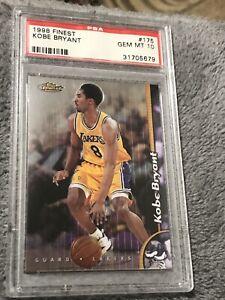 1997-98 Topps Finest #262 Kobe Bryant PSA 10 GEM MT Los Angeles Lakers Card