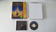 Lords of Magic 1997 RPG/jeu de role/Stratégie PC FR Big Box boite carton