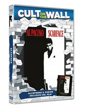 SCARFACE  CULT ON THE WALL   DVD+POSTER    THRILLER