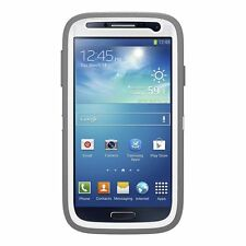 NEW Original OtterBox Defender Case and Belt Clip for Galaxy S4 GREY/WHITE