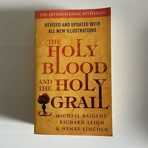 The Holy Blood And The Holy Grail Paperback Knights Templar Baigent & Leigh