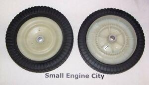 2 Agri-Fab Craftsman 44985 Wheels Tow Behind Lawn Sweeper Tire Wheel Agrifab