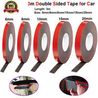 3M Double Sided Versatile Roll Permanent Glue Tape Super Sticky Strong for Car
