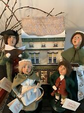 Byers Choice Carolers Williamsburg Special Edition 1998 Family Set Of 4 Euc
