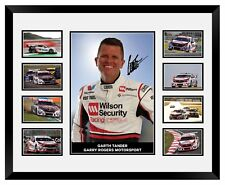 GARTH TANDER 2018 V8 SUPERCARS HOLDEN SIGNED LIMITED EDITION FRAMED MEMORABILIA
