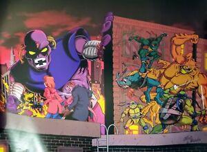 Signed Chris Allan poster, Teenage Mutant Ninja Turtles (TMNT) 40x30