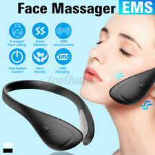 Electric EMS Face Massager V-shaped Face Anti-Aging Facial Massage Lifting