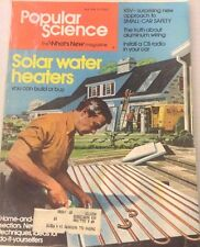 Popular Science Magazine Solar Water Heaters May 1976 073117nonrh