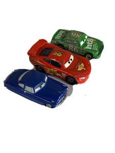 Disney Pixar Lot Of 3 Cars Multicolor !Movie Cars!  Kids Toys F13
