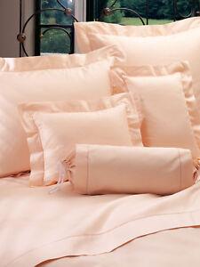 Schweitzer Linen Diplomat - Queen size Egyptian Cotton Bedding Set in Peach