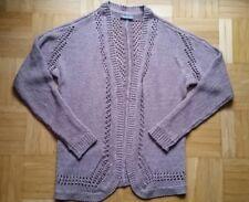 * STREET ONE * Wunderschöne Jacke aus Bändchengarn MAUVE Gr.XS/34 * WIE NEU *