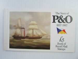 1987 Great Britain SC #BK151 THE STORY OF P&O  Royal Mail  MNH stamps