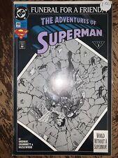 Adventures of Superman #498 (Jan 1993, DC)