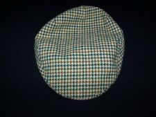 Hodges Vintage Flat Cap Tailors & Outfitters Britain Tweed Hat Size Small